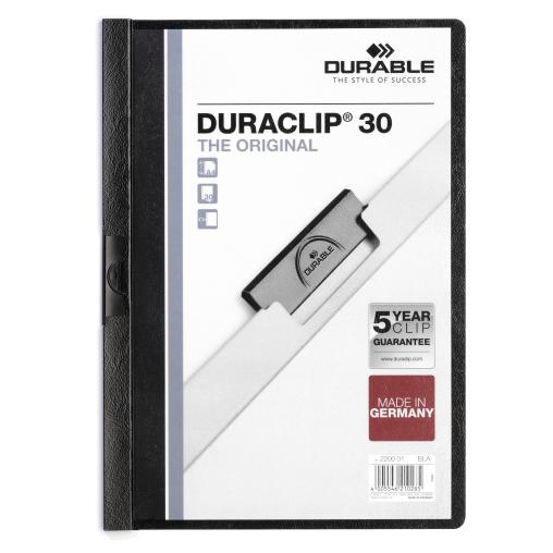 DURABLE Duraclip® Klemmhefter für 1-30 Blatt, DIN A4