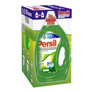 Persil Universal Gel - Professional Line Flüssigwaschmittel 1 Karton = 2 x 3,25 Liter - Flaschen für ca. 130 Waschladungen