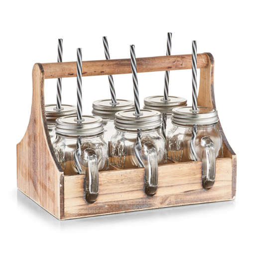 Zeller Trinkgläser-Set in Kiste