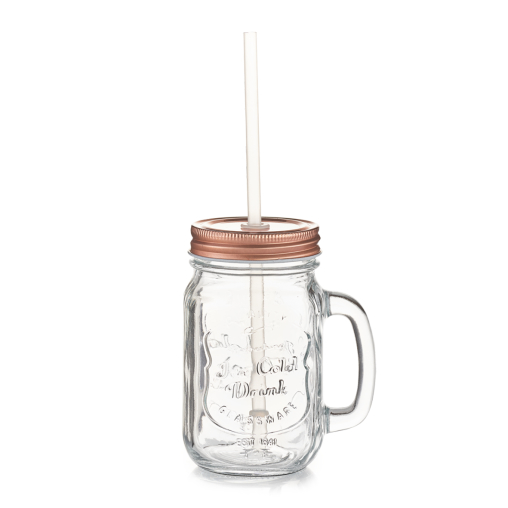Zeller Copper Trinkglas