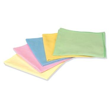 "Floorstar Microfasertuch ""Seidenvelours"" Farbe: gelb"
