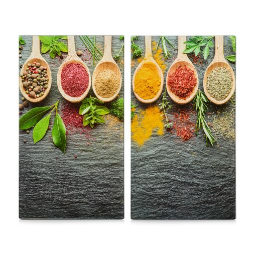 Zeller Spices Herdabdeck-/Schneideplatten-Set, 2-teilig
