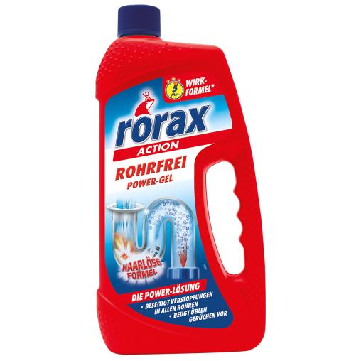 rorax Rohrfrei Power-Gel Rohrreiniger