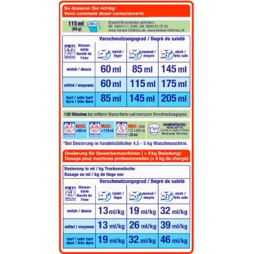 Persil Universal Waschpulver - Professional Line 1 Tragepaket = 8,45 kg für ca. 130 Waschladungen