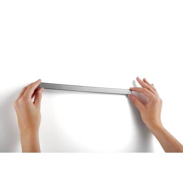 DURABLE Durafix® Rail Magnetleiste, 297 mm 1 Beutel = 5 Stück, silber