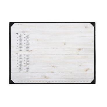 DURABLE Schreibunterlage inkl. Kalenderblock, 590 x 420 mm