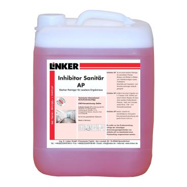 """Linker Inhibitor-Sanitär AP """"extra stark"""" Untergrundreiniger"""