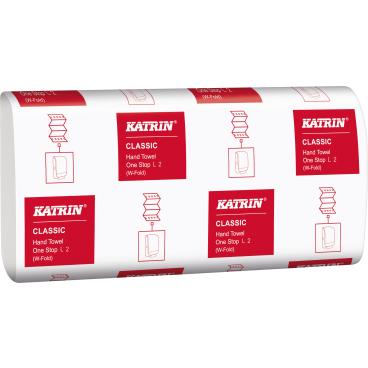 KATRIN Classic One Stop L 2 Papierhandtuch, 23,5 x 34 cm