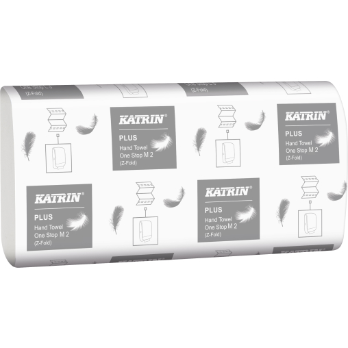 KATRIN Plus One Stop M 2, Interfold, 23,5 x 25 cm Falt-Handtuch