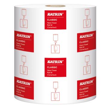 KATRIN Handtuch-Rolle Classic M2 1 Palette = 36 Pakete = 216 Rollen