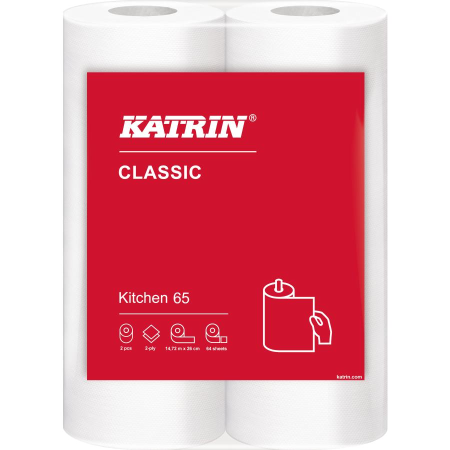 Katrin Kuchenrolle 2 Lagig Weiss 1 Paket 14 X 2 Rollen 28