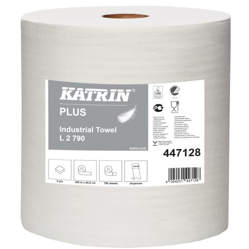KATRIN Plus L 2 Putzpapierrolle