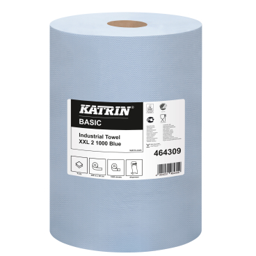 KATRIN Basic XXL 2 1000 Industrietuch, blau