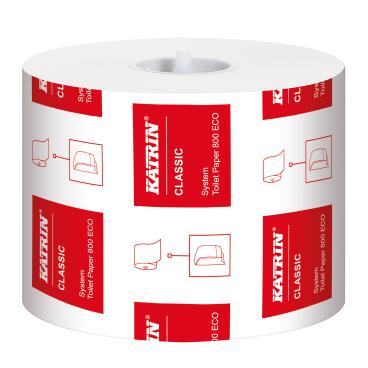 KATRIN Classic System Toilet 800 ECO Toilettenpapier
