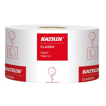 KATRIN Classic Gigant S 2 Toilettenpapier ø19cm