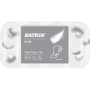 KATRIN Plus Toilet 150 Toilettenpapier