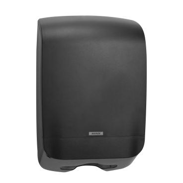 KATRIN Inclusive M Falthandtuchspender Maße (H x B x T): 450 x 301 x 146 mm, schwarz