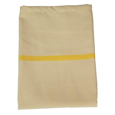 Textil-Wäschesack, selbstöffnend gelb