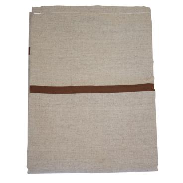 Textil-Wäschesack, selbstöffnend braun