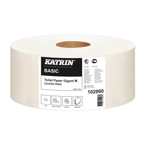 KATRIN Basic Gigant M Toilettenpapier Großrolle