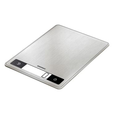 SOEHNLE Page Profi 200 Küchenwaage Edelstahl, Anti-Fingerprint-Beschichtung