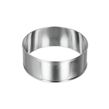 Metaltex Allzweck - Kochringe, Inox-Edelstahl, rund