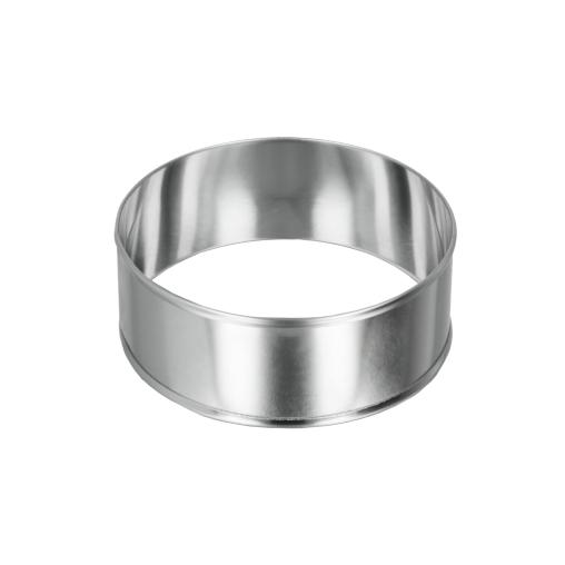 Metaltex Allzweck - Kochringe, Inox, rund