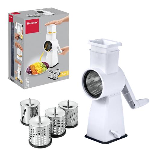 Metaltex Flash Küchenhobel, Inox-Edelstahl/ABS