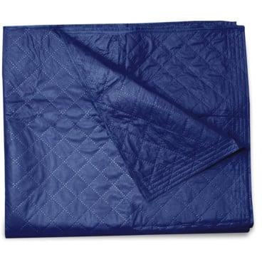 Einmal-Patientendecken 1 Karton = 40 Stück, 110 x 190 cm, 500 g, blau