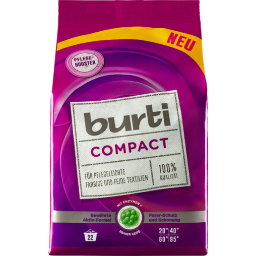 burti Compact Colorwaschpulver