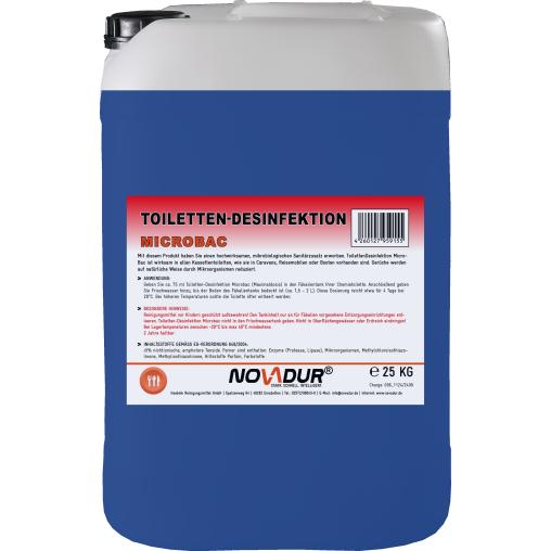 NOVADUR Toiletten-Desinfektion MicroBac