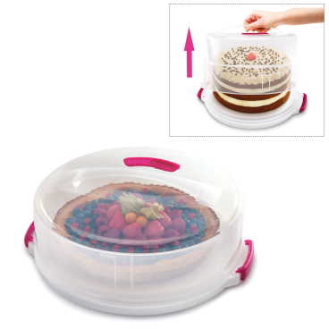 Metaltex Tortenbehälter, Kunststoff