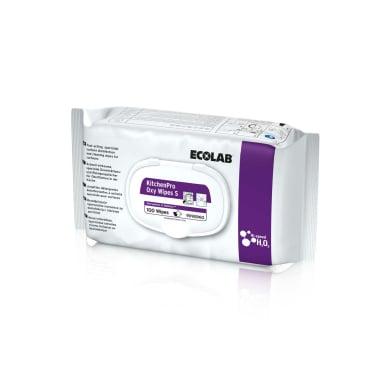 ECOLAB KitchenPro Oxy Wipes S Desinfektionstücher 1 Karton = 6 Packungen à 100 Tücher