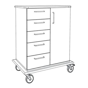novocal PAW 8000 Pflege- und Arbeitswagen