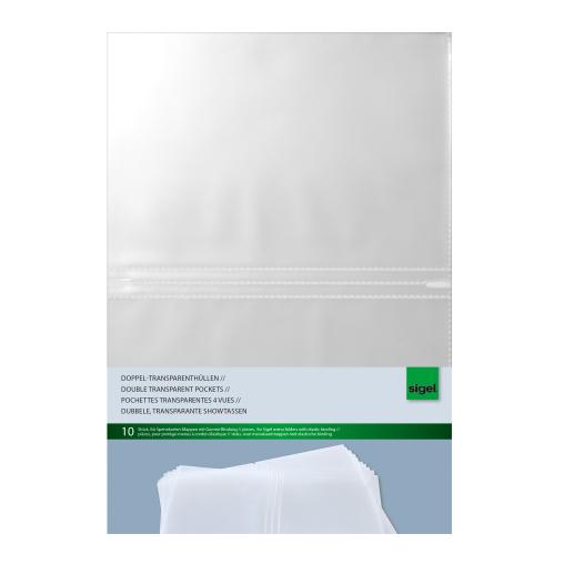 Sigel Doppel-Transparenthüllen