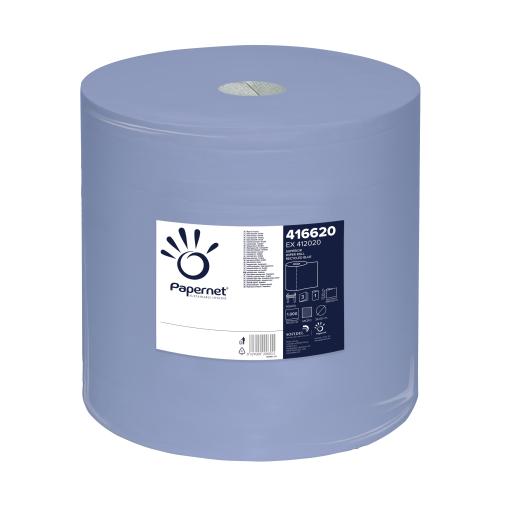 Superior Wiper Roll Blue Papierputzrolle, blau