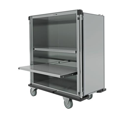 novocal Sterilgut-Transportwagen mit herausnehmbaren Fachböden