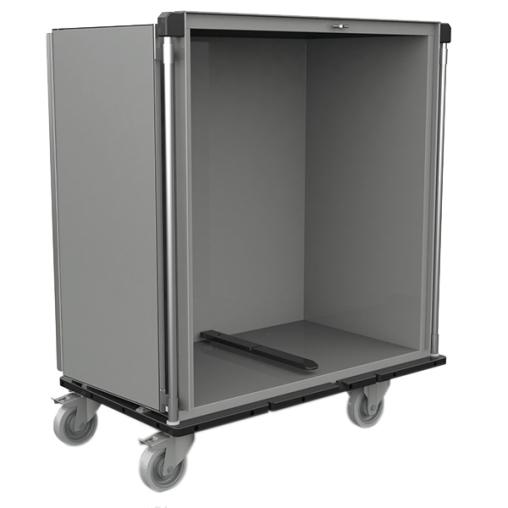 novocal Sterilgut-Transportwagen zur Aufnahme von Innenrahmen