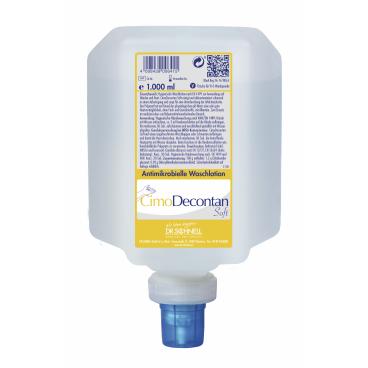 Dr. Schnell CimoDecontan Antimikrobielle Waschlotion 1 Liter - V10 Spenderflasche