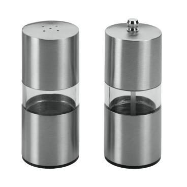 Metaltex Salzstreuer- u. Gewürzmühle, 2-teilig