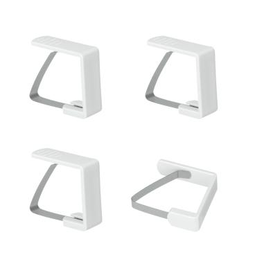 Metaltex Tischtuchklammern, 4-teilig