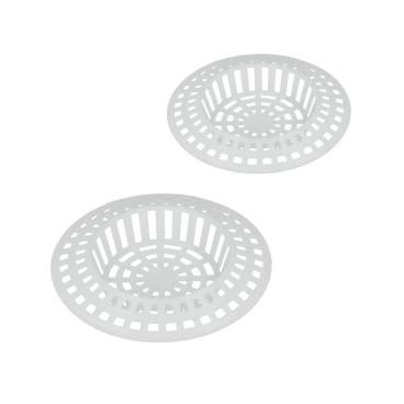 Metaltex Abflusssieb aus Kunststoff, weiß