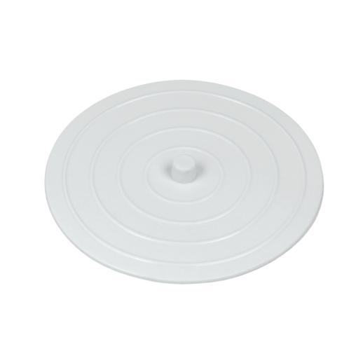 Metaltex Abfluss Abdeckung aus Gummi, weiß