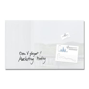 Sigel artverum® Glas-Magnetboard, 78 x 48 x 1,5 cm