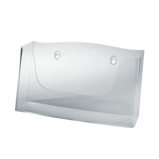 Sigel Wand-Prospekthalter acrylic, mit 1 Fach