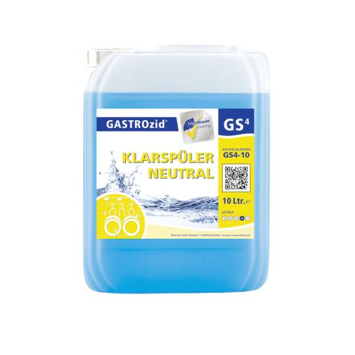 GASTROzid® GS4 Klarspüler, neutral