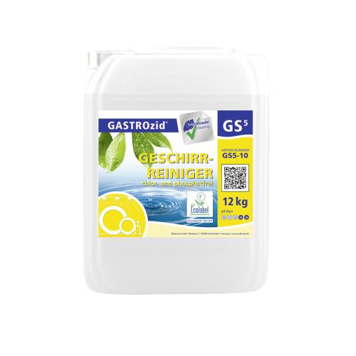 GASTROzid® GS5 Geschirrreiniger, chlor- und phosphatfrei
