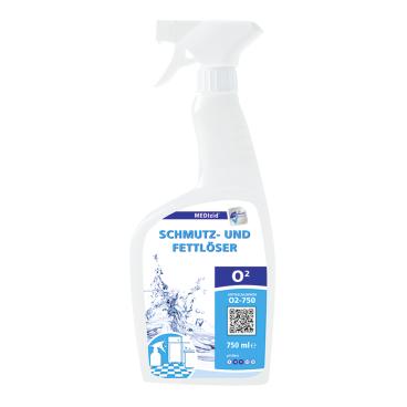 MEDIzid® O2 Schmutz- und Fettlöser, gebrauchsfertig