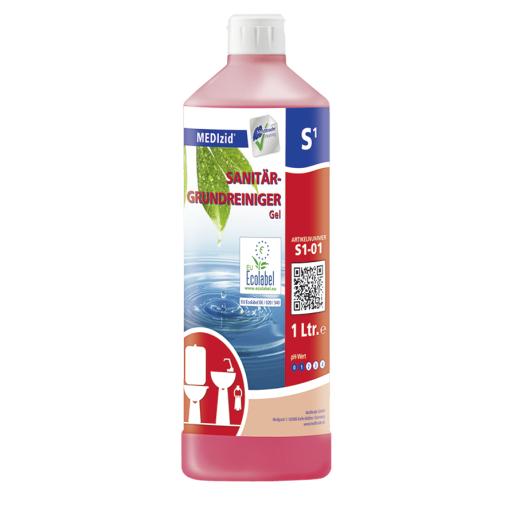 MEDIzid® S1 Sanitär-Grundreiniger-Gel