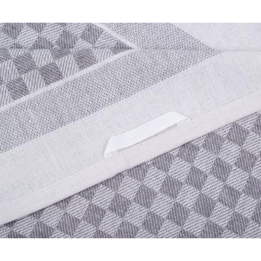 Gözze Allzweck-Grubenhandtücher 1 Packung = 10 Handtücher, silber